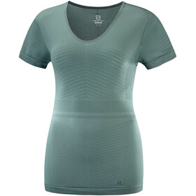 Salomon Elevate Move'On SS Tee Women balsam gr